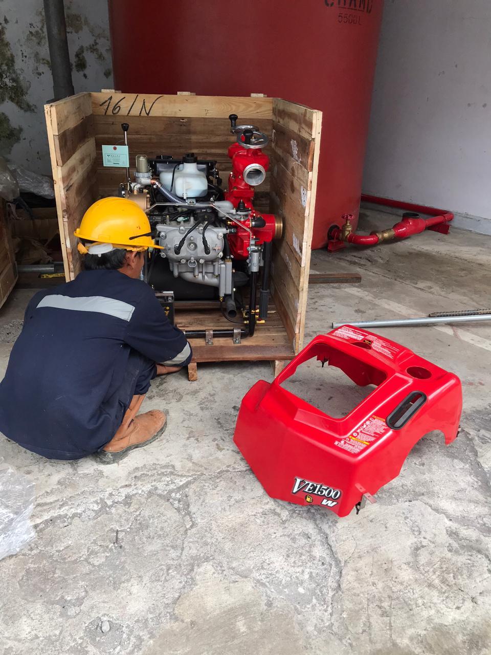 Customer Pump Tohatsu VE1500 (Kep. Sangihe)